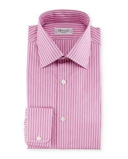 Charvet - Ribbon-Striped Dress Shirt