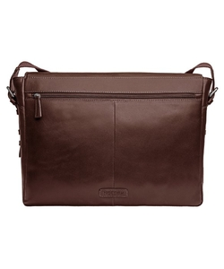 Hidesign - Cooper Horizontal Leather Messenger Bag