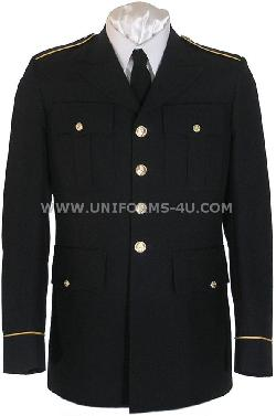 The salute uniform - US ARMY ASU ENLISTED DRESS BLUE COAT