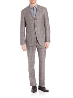 Kiton -  Plaid Suit