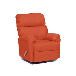 Best Home Furnishings - Split Back Cushion Arm Space Saver Recliner Chair