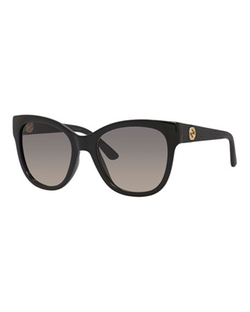 Gucci - Gradient Diamantissima Cat-Eye Sunglasses