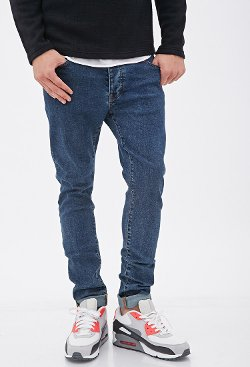 21Men - Medium Wash - Skinny Jeans