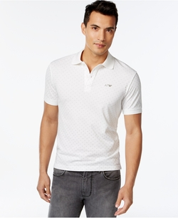 Armani Jeans - Dot-Print Polo Shirt
