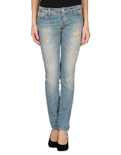 Two Women In The World  - Washed Torn Denim Pants