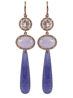 Irene Neuwirth - Tiered Drop Earrings