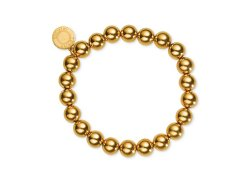 Tommy Hilfiger  - Gold-Tone Ball Stretch Bracelet