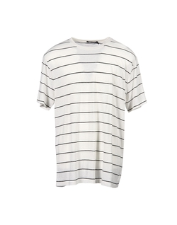 T By Alexander Wang  - Stripe T-Shirt