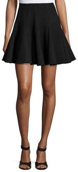 RED Valentino - Pleated Fit-&-Flare Skirt