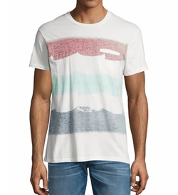 Sol Angeles - Brushstroke Flag Short-Sleeve T-Shirt