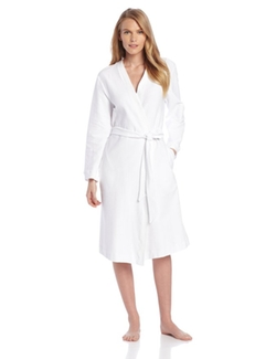 Hanro - Womens Cotton Pique Robe