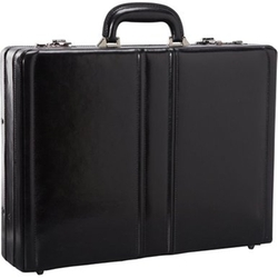Mancini  - Signature Expandable Attaché Case Bag
