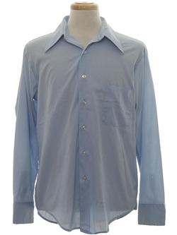 K-Mart - Button Cuff Solid Shirt