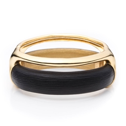 Alexis Bittar - Gold Stacked Hinged Bracelet