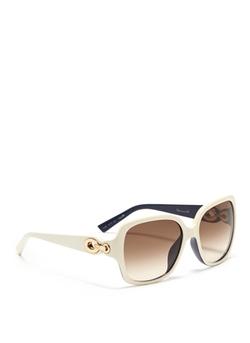 Dior - Contrast Interior Oversized Square Sunglasses