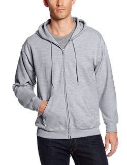 Hanes - Full Zip EcoSmart Fleece Hoodie Jacket