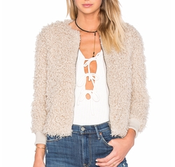 Cupcakes And Cashmere - Jessica Faux Fur Jacket