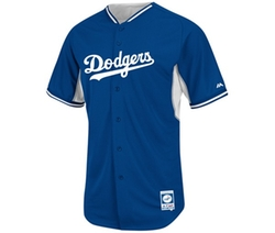 Majestic - Los Angeles Dodgers Cool Base BP Jersey Shirt
