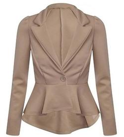 Jubileens - Peplum Blazer Jacket