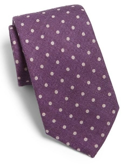 Eton of Sweden - Polka Dot Silk Tie
