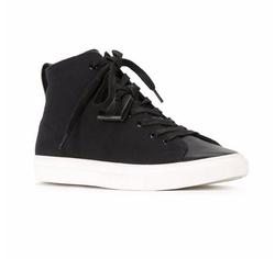 HL Heddie Lovu - Contrast Sole Hi-Top Sneakers