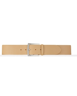 Ralph Lauren - Square-Buckle Calfskin Belt