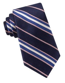 Ike By Ike Behar - Silk Striped Tie