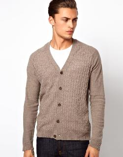 ASOS  - Cable Cardigan