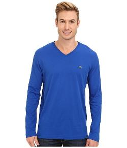Lacoste - Pima Jersey V-Neck T-Shirt