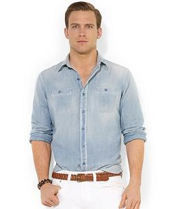 Polo Ralph Lauren  - Big and Tall Chambray Shirt