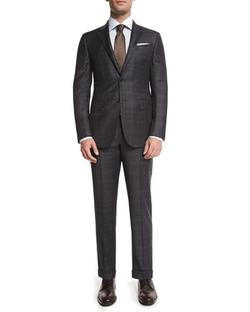 Ermenegildo Zegna - Trofeo Plaid Two-Piece Suit, Gray