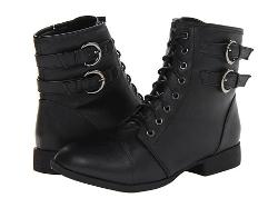 UNIONBAY  - Impulse Buckle Short Combat Boot