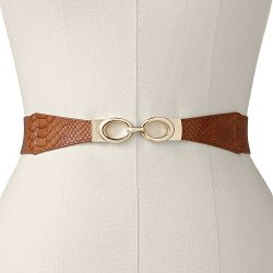 Apt. 9  - Snakeskin Stretch Belt