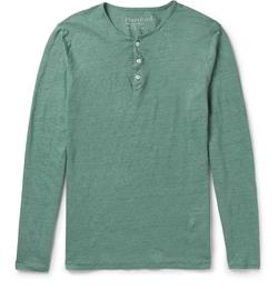 Hartford - Linen Henley T-Shirt