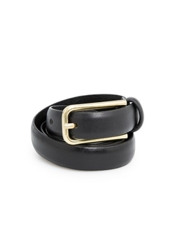 Mango - Leather Skinny Belt