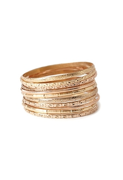 Forever21 - Etched Bangle Set