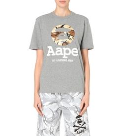 AAPE - Camo-Logo T-Shirt