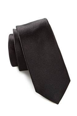 Original Penguin - Solid Silk Super Slim Tie