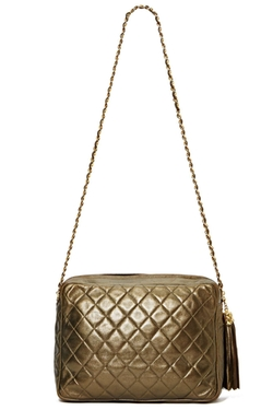 Vintage Chanel - Metallic Tassel Bag