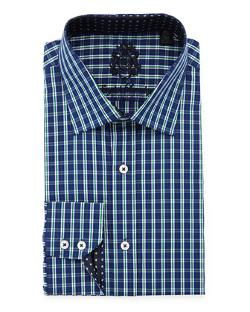 English Laundry  - Classic Fit Plaid Dress Shirt
