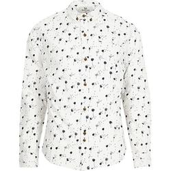 River Island - White Bellfield Dandelion Print Shirt