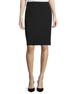 Lafayette 148 New York - Knee-Length Pencil Skirt