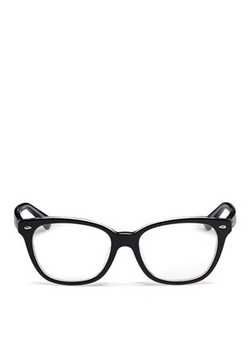 Ray-Ban - Two Tone Square Cat Eye Optical Glasses