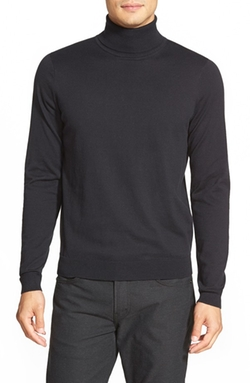 Calibrate  - Silk Blend Turtleneck Sweater