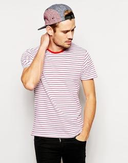 Selected  - Stripe T-Shirt