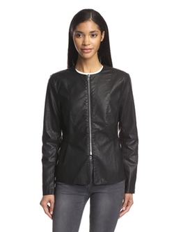 Love Token - Mitchell Faux Leather Jacket