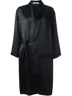 Givenchy   - Draped Crepe Coat