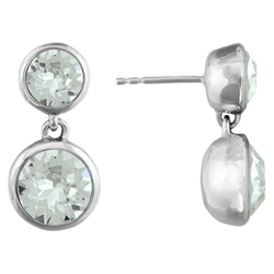 Target - Crystal Drop Stud Earrings
