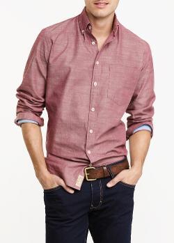 Mango - Slim-Fit Chambray Shirt