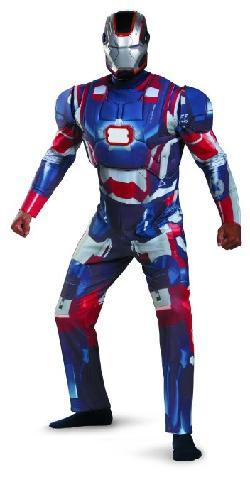 Disguise  - Marvel Iron Man 3 Iron Patriot Deluxe Mens Adult Costume